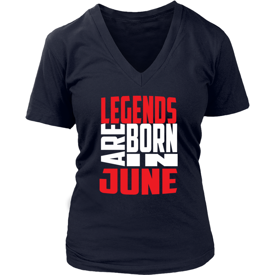 Legends are born in June Hoodie Tank-Top - Men Women