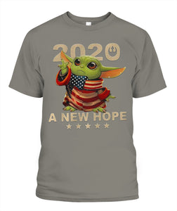 Baby Yoda 2020 A New Hope Star T-Shirt