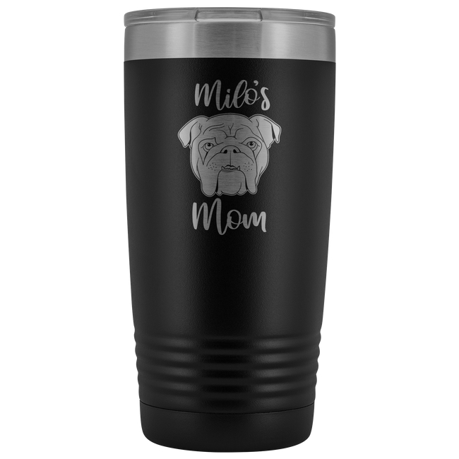 English Bulldog Tumbler - TUB-30 - Men Women