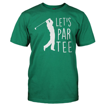 Let's Par Tee - T Shirt - Men Women