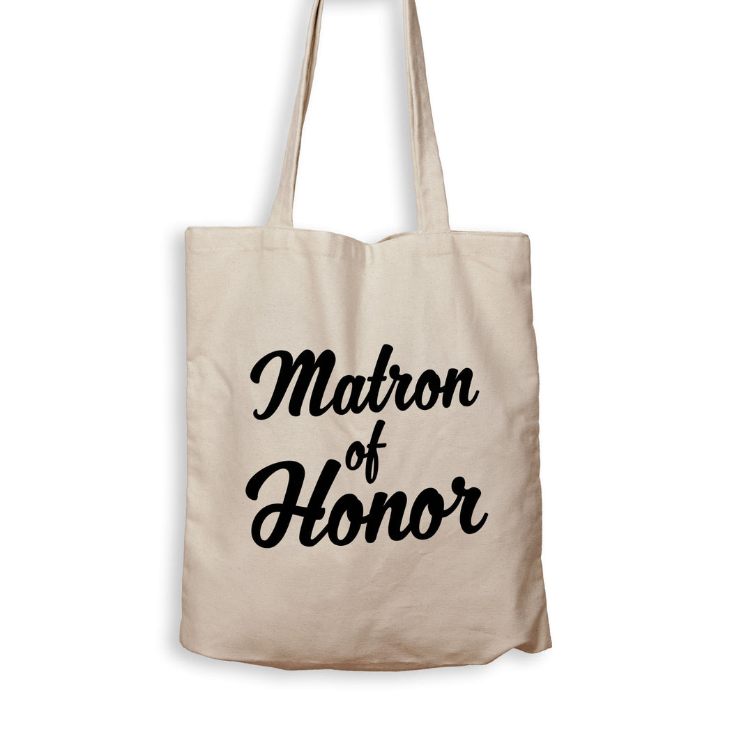 Matron Of Honor - Tote Bag - Men Women