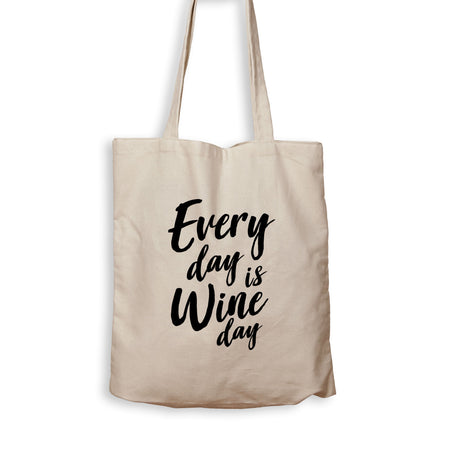 Every Day Is Wine Day - Tote Bag - Men Women