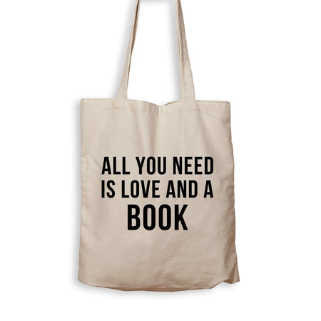 All You Need Is Love And A Book - Tote Bag - Men Women
