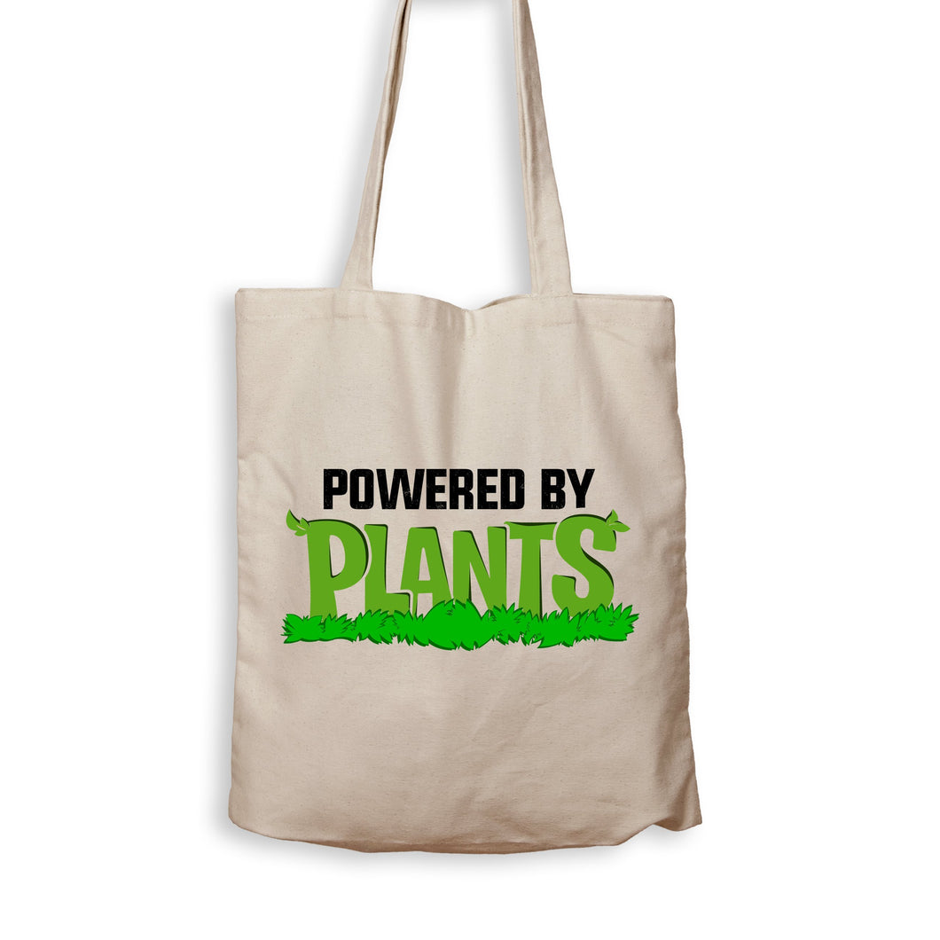 Powered By Plants - Tote Bag - Men Women