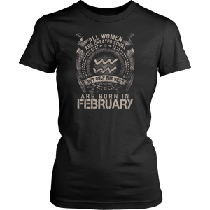 The best are born in February  Hoodie Tank-Top - Men Women