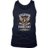 Legends Are Born In February 1984 Men's Women's T Shirt - Men Women