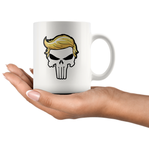 Trump Punisher, Donald Trump, Trumpisher, Trump 11oz Mug - Men Women
