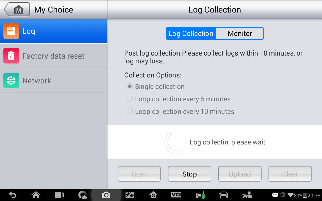 How to Catch the System Log with Autel IM608