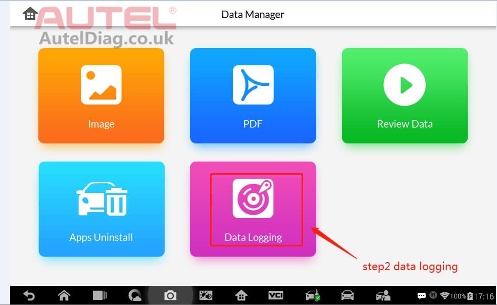 How to Send Datalog from History on Autel Tablets