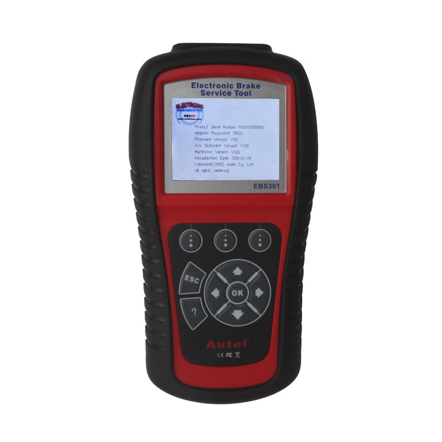 Autel MaxiService EBS301 Electronic Brake Service Tool - Autel Authorized Dealer-Auto intelligence Tools