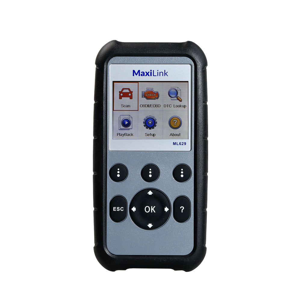 Autel MaxiLink ML629 ABS Airbag Code Reader Check Engine Transmission Codes Upgrade Version of ML619 AL619 Lifetime Free Update Online - Autel Authorized Dealer-Auto intelligence Tools