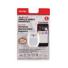 Load image into Gallery viewer, Autel MaxiAP AP200 Bluetooth OBD2 Code Reader with Full Systems Diagnoses, Simplified Edition of MK808/MX808, Ship from UK - Autel Authorized Dealer-Auto intelligence Tools