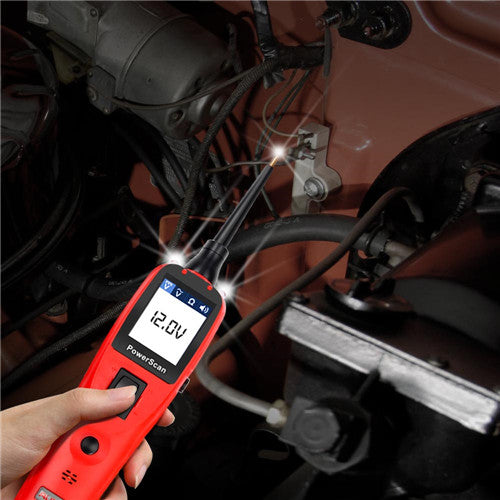 Autel PowerScan PS100 Electrical System Diagnosis Tool PowerScan PS100 Auto Circuit Battery Tester Easy to Read AVOmeter, Ship from Czech No Tax - Autel Authorized Dealer