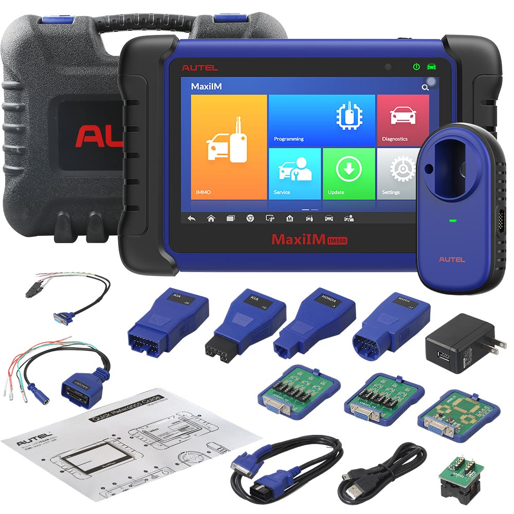 Autel MaxiIM IM508 Advanced IMMO & Key Programming Tool comes with XP400 Key and Chip Programmer Don't Ship to UK,ES,PT, Ship from UK No Tax - Autel Authorized Dealer
