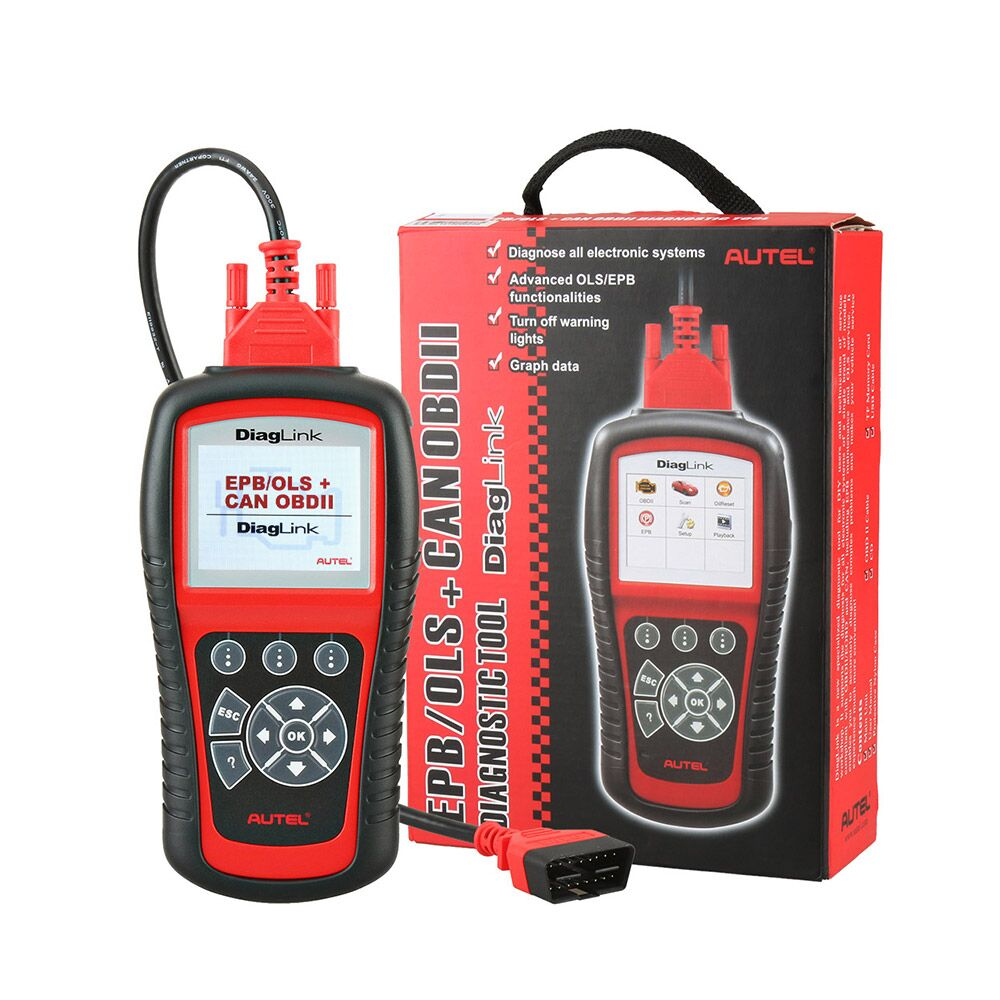 Autel Diaglink OBD2 Scanner All System Car Diagnostic Tool Free Shipping - Autel Authorized Dealer