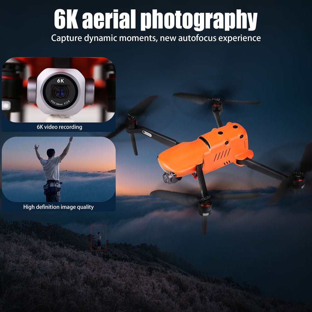 Autel Robotics EVO II Pro 6K Drone Camera Foldable Quadcopter Rugged Bundle with Hard Carrying Case and 2 Batteries, Ship from UK No Tax - Autel Authorized Dealer-Auto intelligence Tools