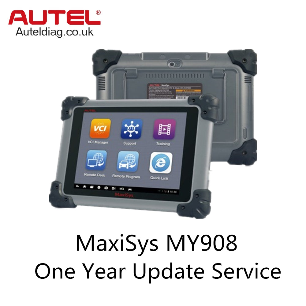 Autel Maxisys MY908 One Year Update Service (Total Care Program Autel) - Autel Authorized Dealer