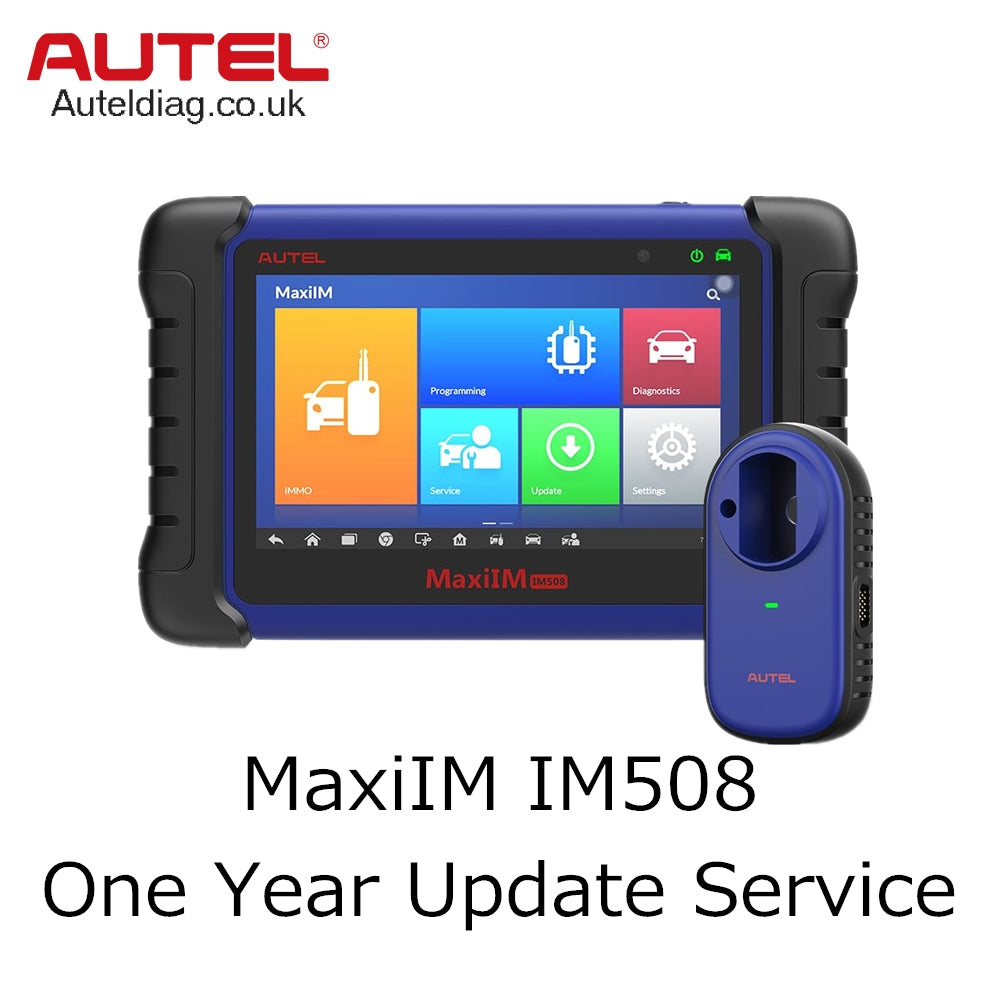Autel MaxiIM IM508 One Year Update Service - Autel Authorized Dealer