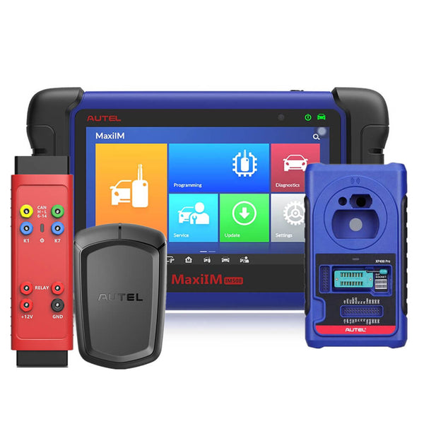 Autel MaxiIM IM508 plus XP400 Pro, APB112 Smart APB112 and G-Box2 Adapter, Free Shipping from UK No Tax - Autel Authorized Dealer