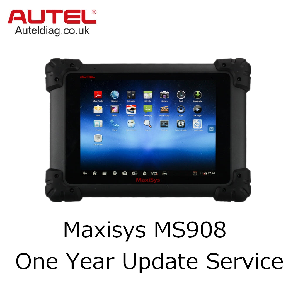 Autel Maxisys MS908 One Year Update Service - Autel Authorized Dealer