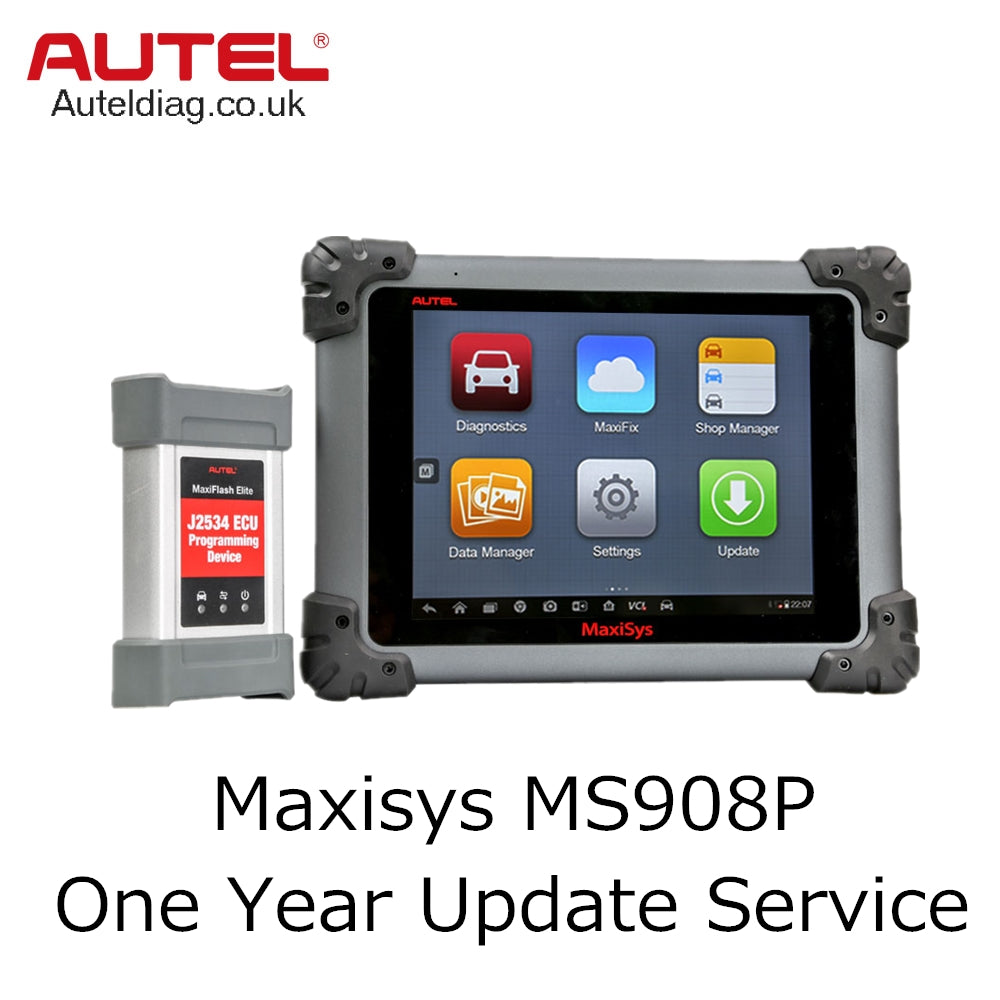Autel Maxisys MS908P One Year Update Service - Autel Authorized Dealer