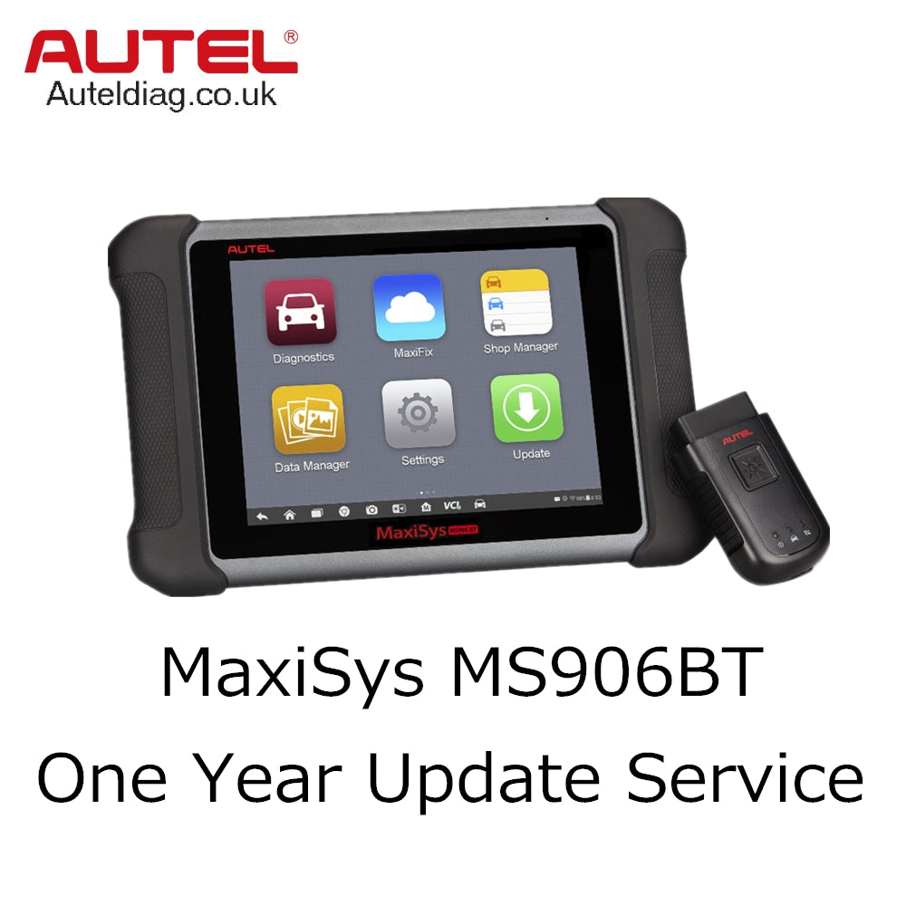 Autel MaxiSys MS906BT One Year Update Service - Autel Authorized Dealer