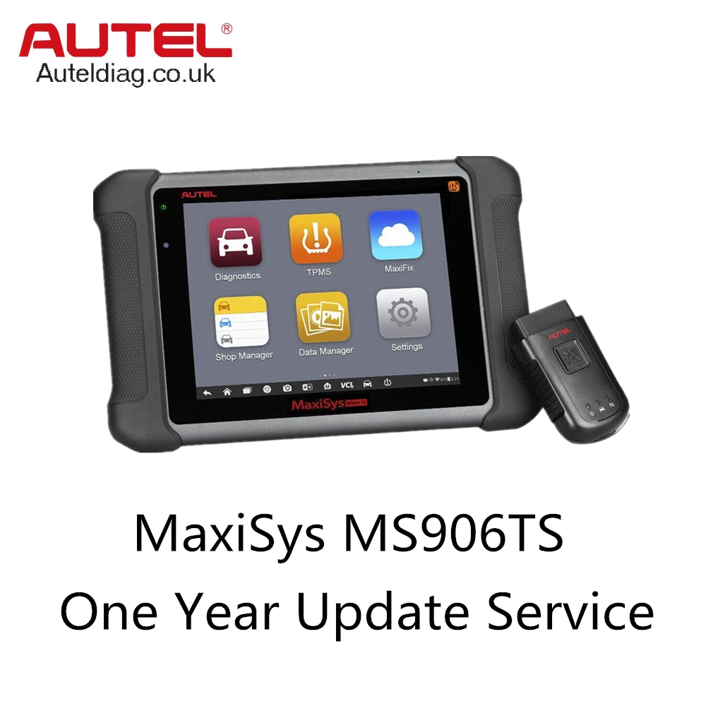 Autel MaxiSys MS906TS One Year Update Service - Autel Authorized Dealer