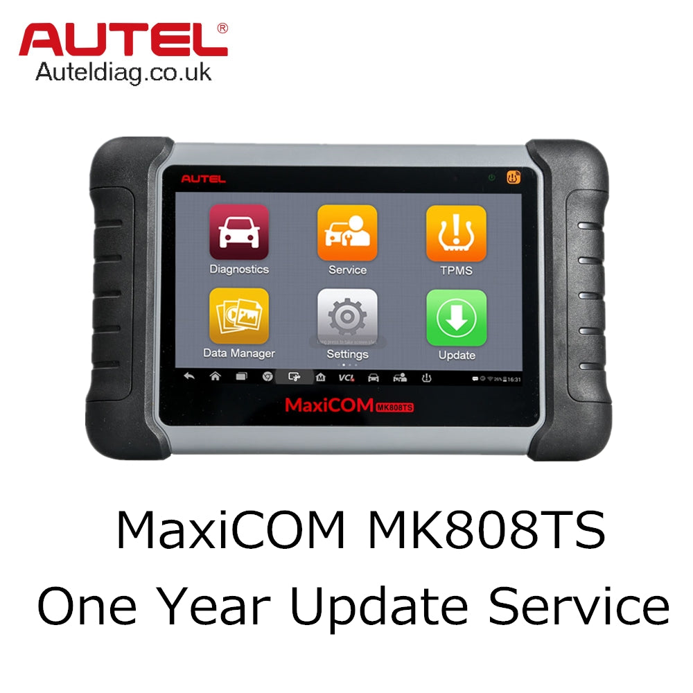 Autel MaxiCOM MK808TS One Year Update Service - Autel Authorized Dealer