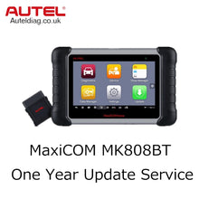 Load image into Gallery viewer, Autel MaxiCOM MK808BT One Year Update Service - Autel Authorized Dealer-Auto intelligence Tools