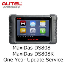 Load image into Gallery viewer, Autel MaxiDAS DS808/MaxiDAS DS808K One Year Update Service - Autel Authorized Dealer-Auto intelligence Tools