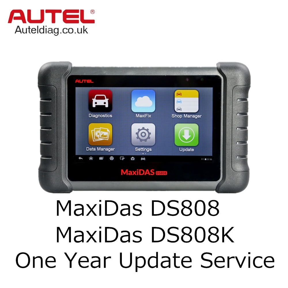 Autel MaxiDAS DS808/MaxiDAS DS808K One Year Update Service - Autel Authorized Dealer-Auto intelligence Tools