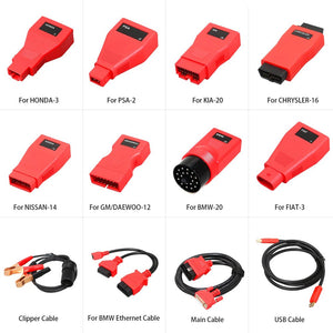 Autel MaxiCOM MK908P Full System Diagnostic Tool with J2534 Box Support ECU Coding and Programming Ship from UK - Autel Authorized Dealer-Auto intelligence Tools