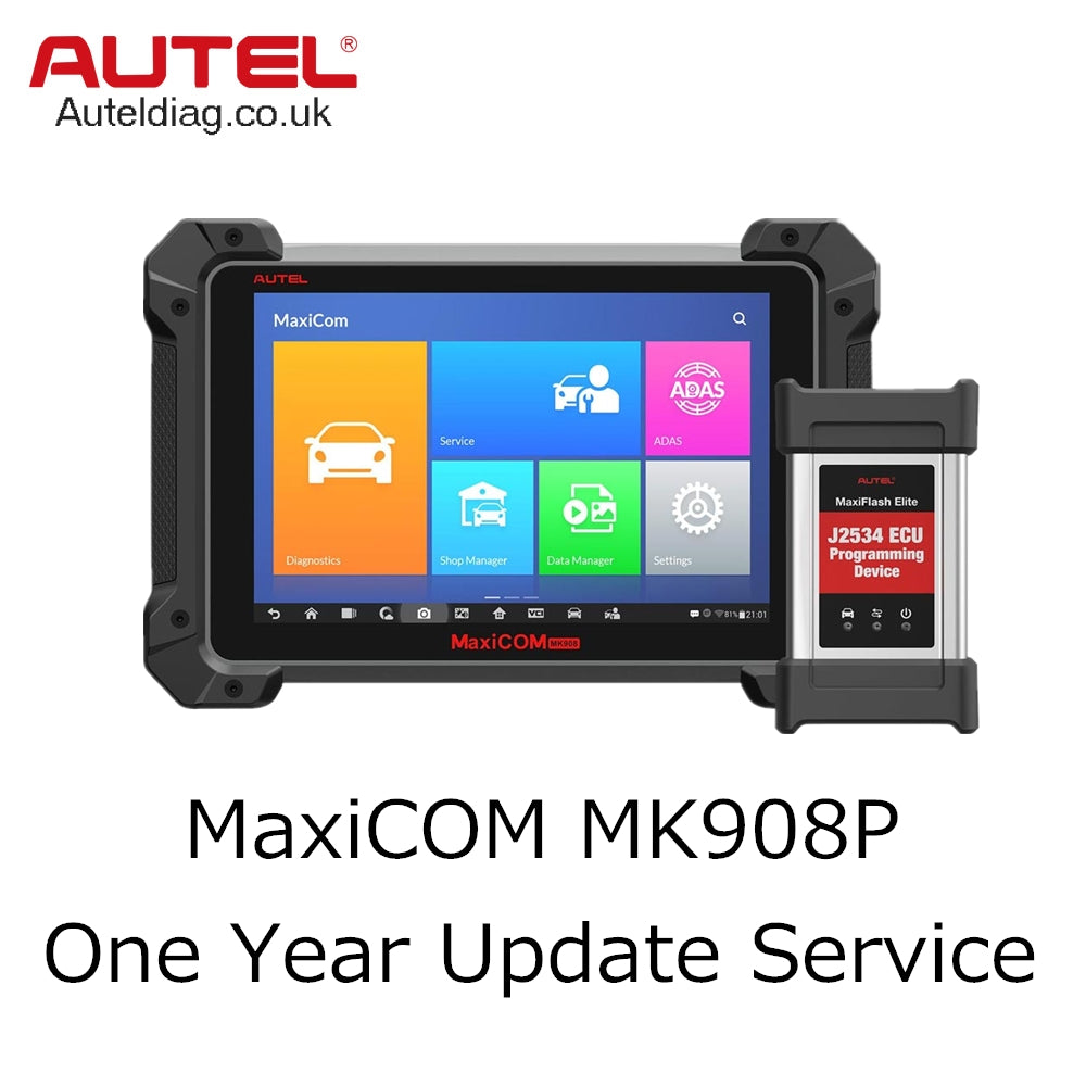 Autel MaxiCOM MK908P One Year Update Service - Autel Authorized Dealer-Auto intelligence Tools