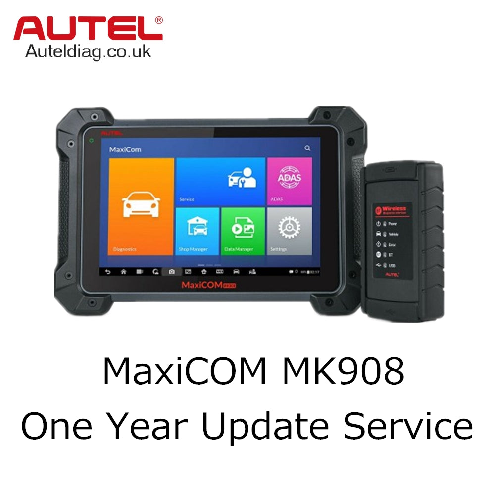 Autel MaxiCOM MK908 One Year Update Service - Autel Authorized Dealer