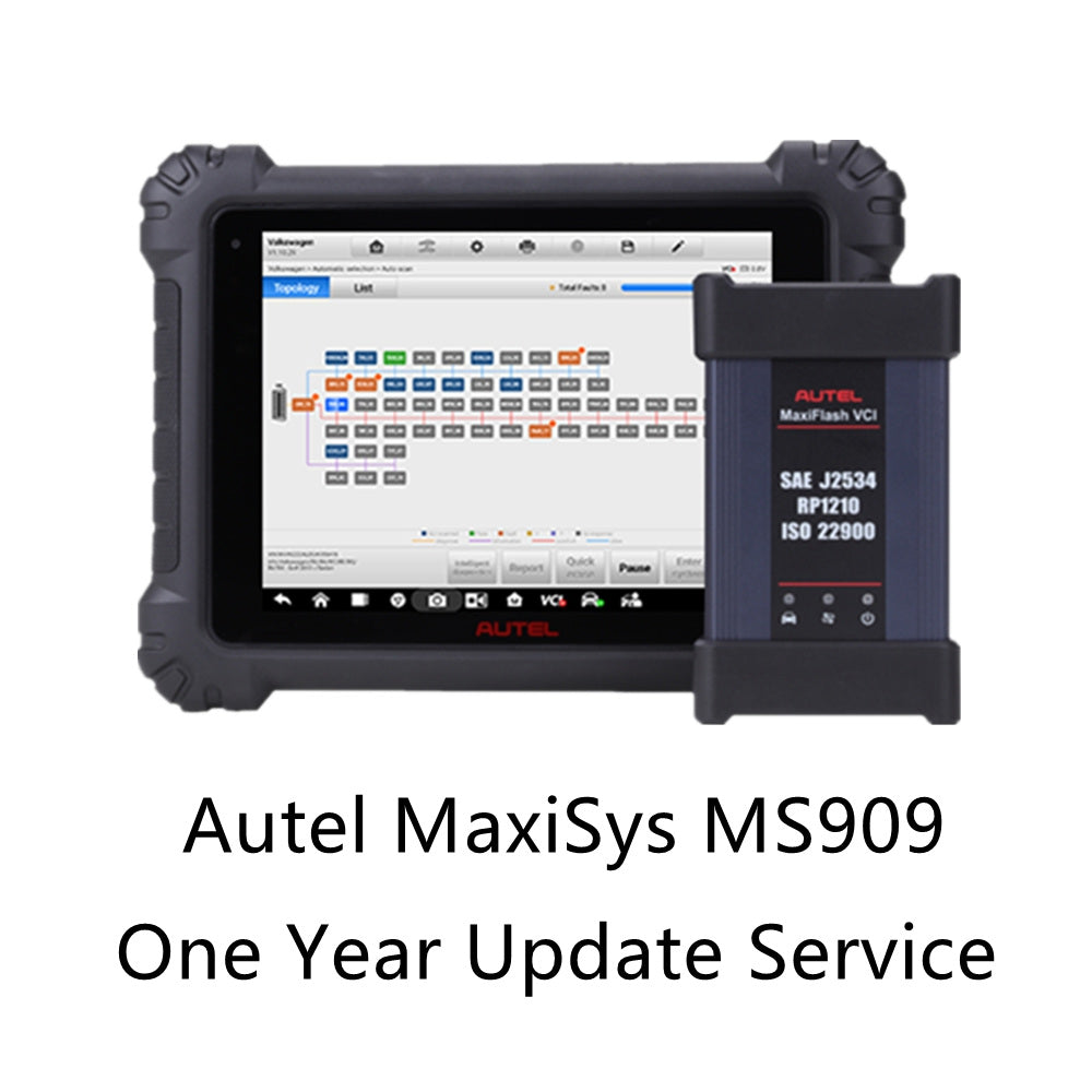 Autel MaxiSys MS909 One Year Update Service - Autel Authorized Dealer-Auto intelligence Tools