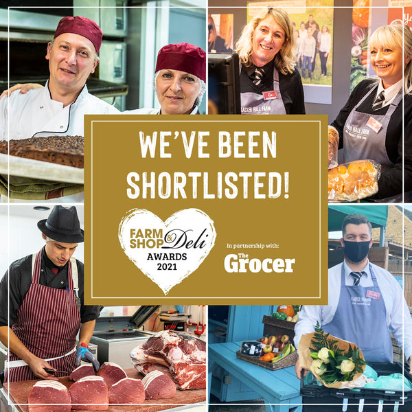 We have been shortlisted for The Farm Shop & Deli Awards!