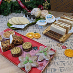 Festive Afternoon Tea Box with Sandwiches for Two