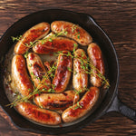 Pork and Caramelised Onion Sausages