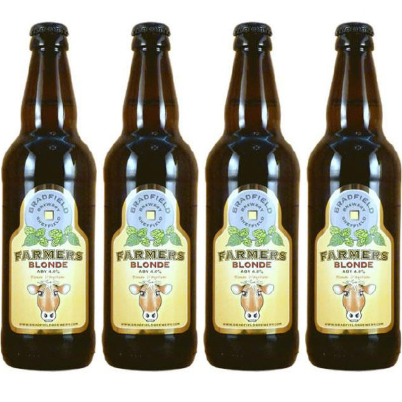 Bradfield Brewery Farmers Blonde - Case of 12