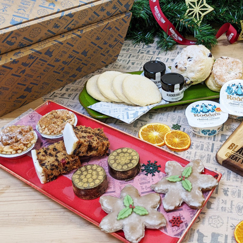 Festive Afternoon Tea Box for Two (Cakes & Scones only)