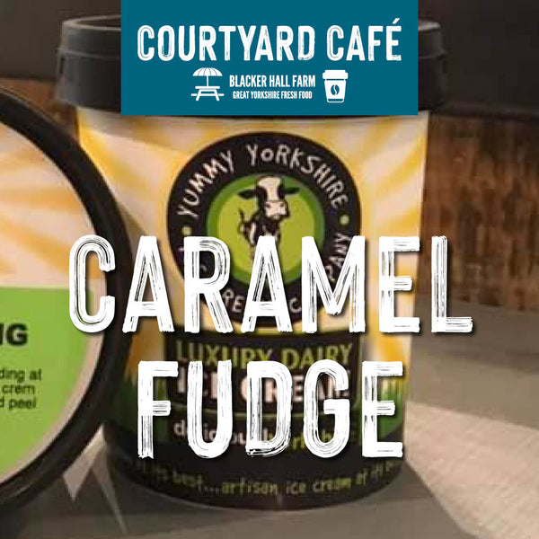 Yummy Yorkshire Caramel Fudge Ice Cream