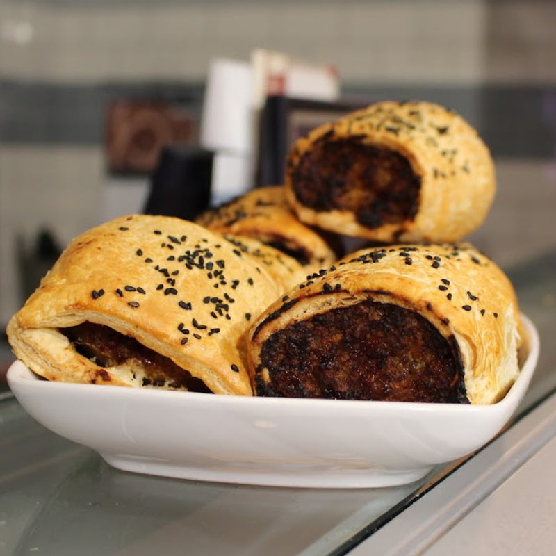 Caramelised Onion Sausage Roll - Pack of 2