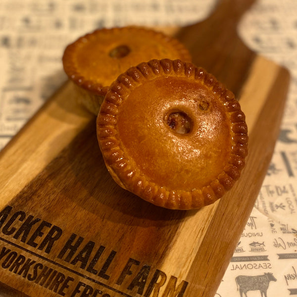 2 Small Traditional Pork Pies