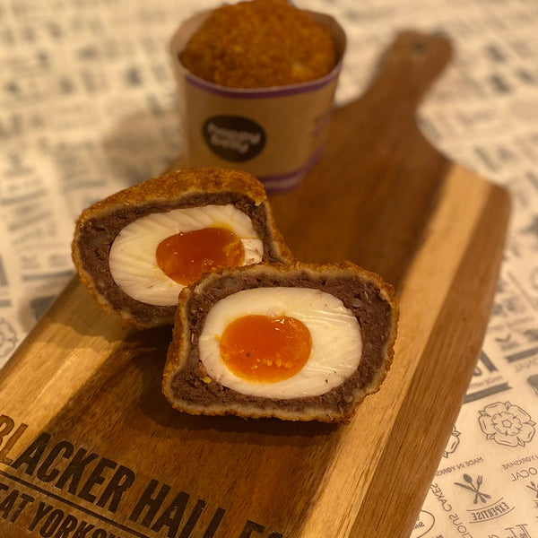 Happy Belly Black Pudding Scotch Egg