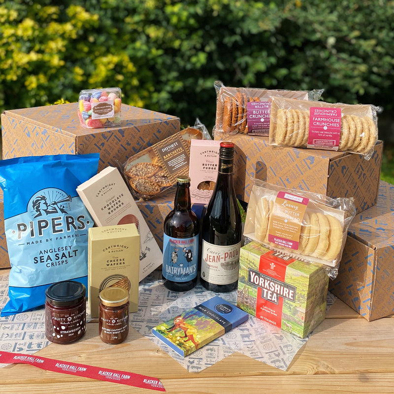 The Blue Blacker Hall Hamper