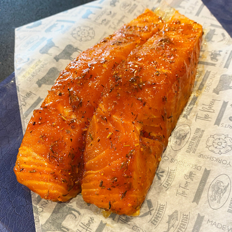 Two Spicy Argentinian Salmon Fillets