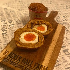 Happy Belly Pulled Pork Scotch Egg