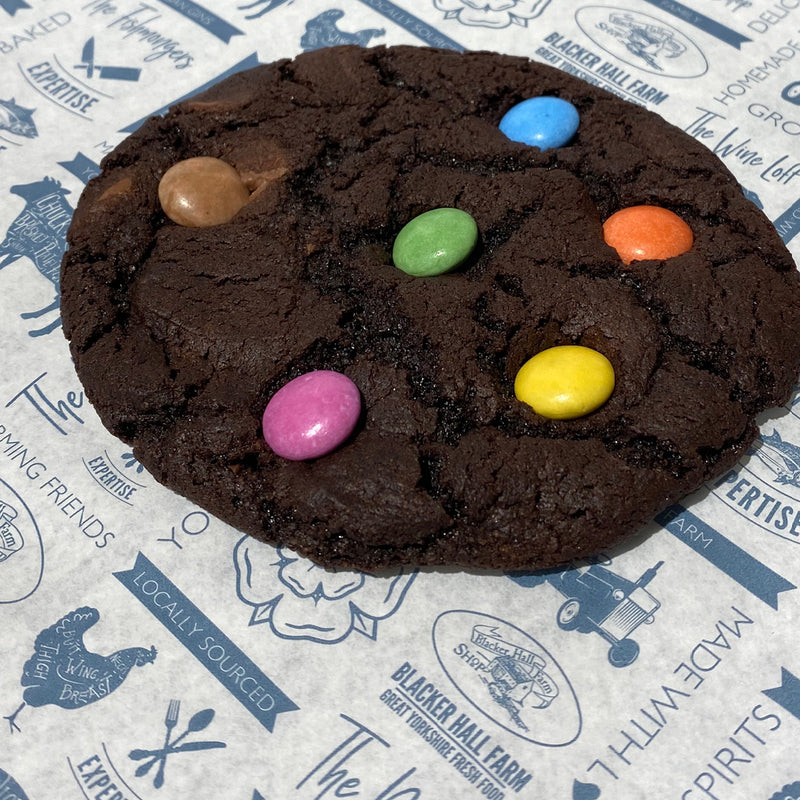 Double Chocolate Rainbow Cookie