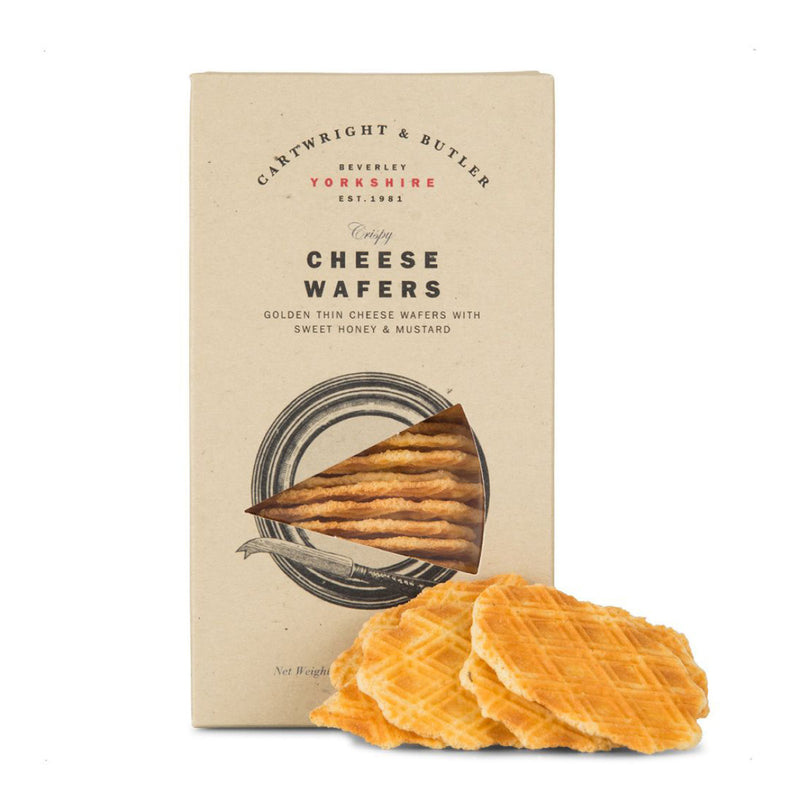 Cartwright and Butler Cheese Wafers with Honey and Mustard