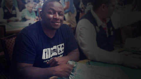 Carlos Welch playing poker